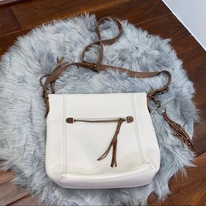 New The Sak Leather Purse Crossbody Handbag